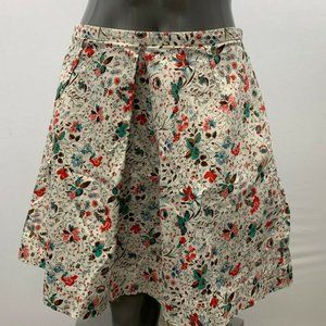 Gap Women's Size 4 Floral Pleated Stretch Short